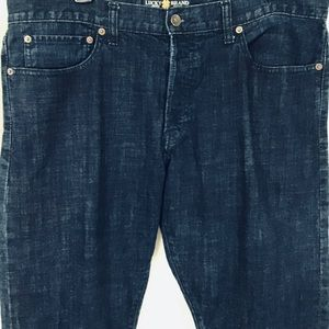Lucky Brand 121 Heritage Slim Dark Wash 38 x 30